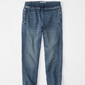 Abercrombie and Fitch denim joggers
